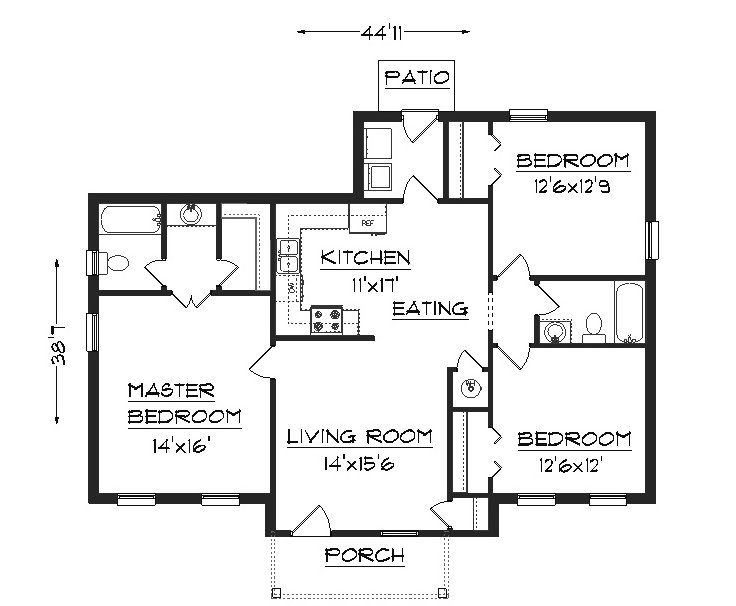 wallpaper floor plans